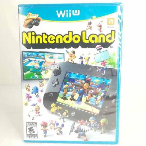 Nintendo wii u: nintendo land videojuego