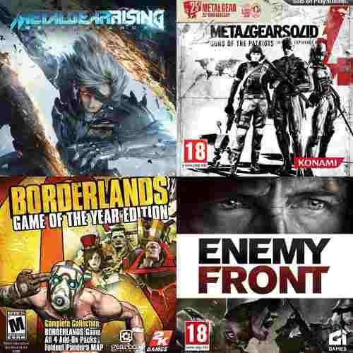 Oferta de ps3 (4 juegos) licencia digital