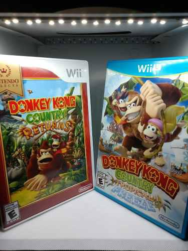 Pack donkey kong country returns coleccion wii y wii u