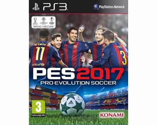Pro evolution soccer 2017 pes 17 para ps3 nuevo