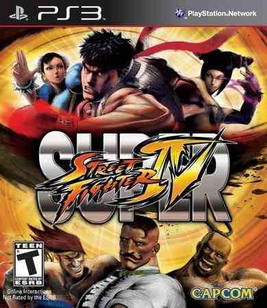 Ps3 - super street fighter iv - juego fisico (mercado pago