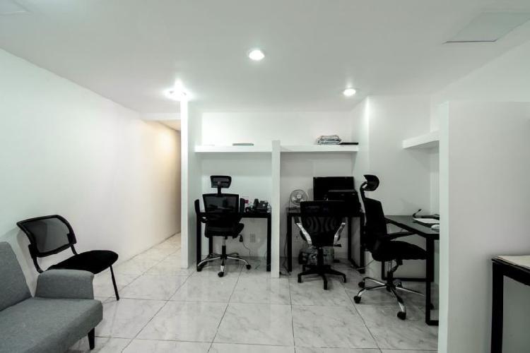 Renta de oficina con servicios incluidos por 5,999 pesos en