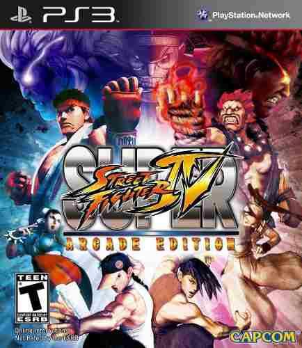 Super street fighter 4 arcade edition ps3, videojuegos, ps3