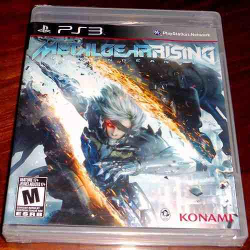 Videojuego metal gear rising revengeance ps3 físico sellado