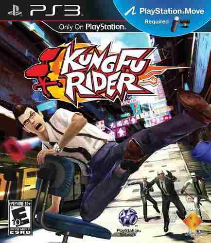 Videojuego playstation 3 kungfu rider para playstation move