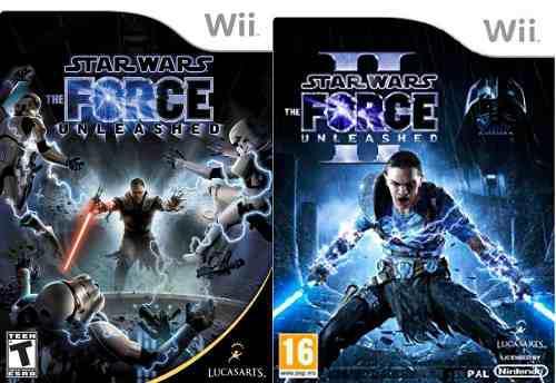 Wii / wii u - star wars unleashed i y ii - juego fisico