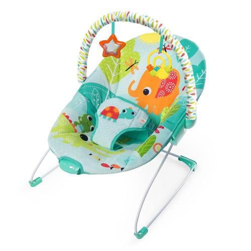 Bouncer mecedora bebe bright starts vibradora elefante