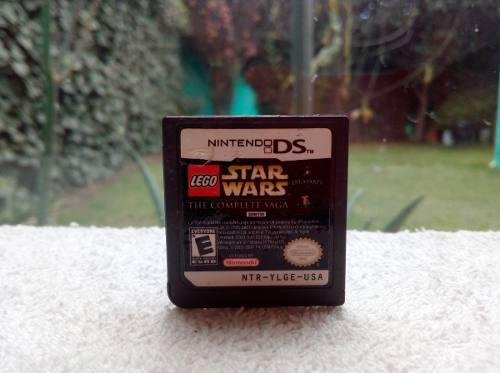Juego lego star wars the complete saga nintendo ds 3ds