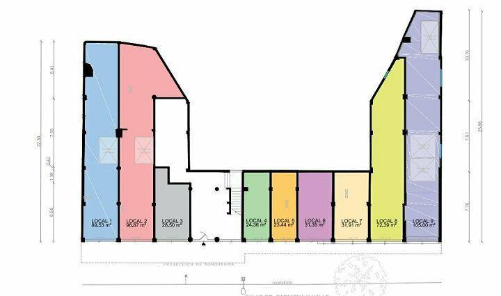 Local comercial en renta desde 72 m2 en la doctores