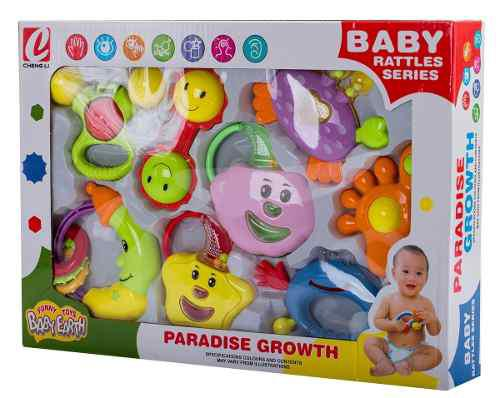 My set sonajas bebes articulos baby juguetes baratos k8804