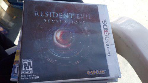 Nintendo 3ds resident evil revelation con error revelaiton