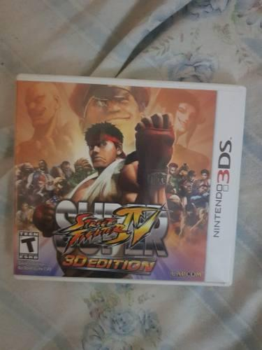Street figther 3ds (caja)