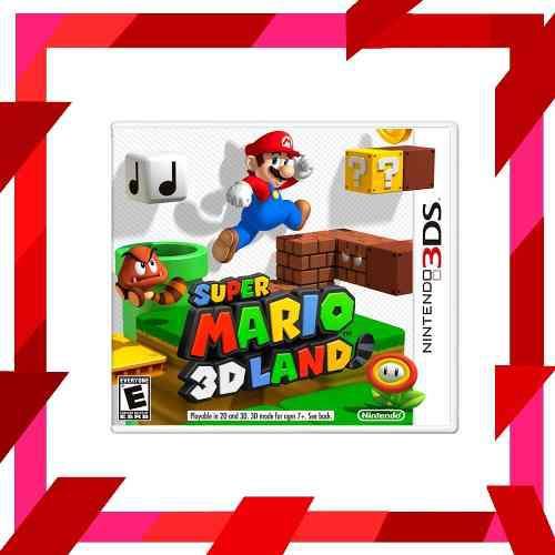 Super mario 3d land original nintendo 3ds | mod games