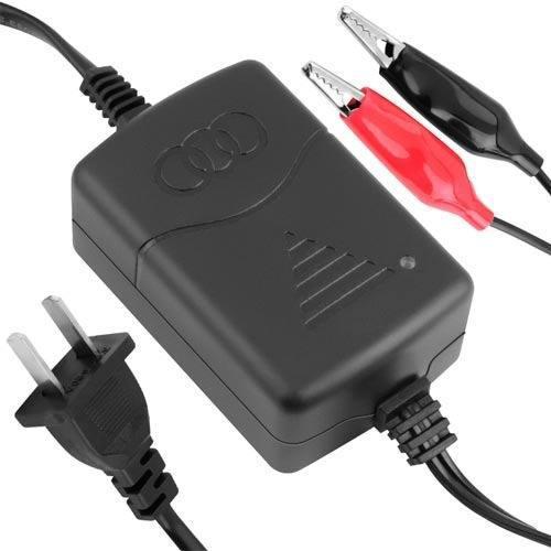 Cargador de corriente para batería 12v de moto / motoneta