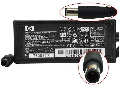 Cargador hp 2000 notebook pc 18.5v 3.5a original