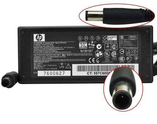 Cargador hp dm1 dm4 cq50 cq60 18.5v 3.5a original