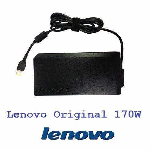 Cargador lenovo laptop original 20v 8.5a 170w square slim ti