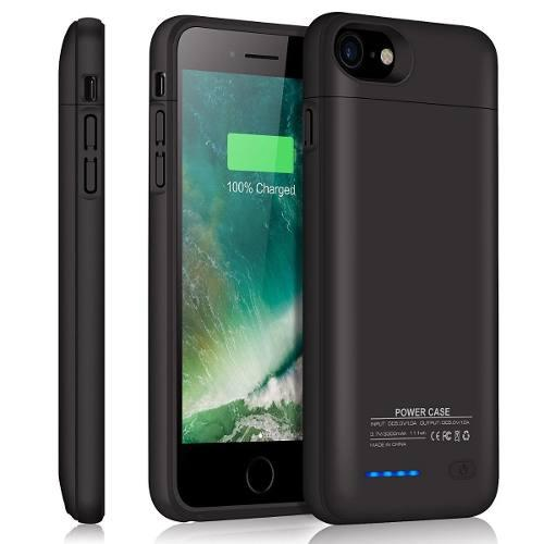 4f44bf4c8e7 Funda cargador case bateria externa iphone 6 7 8 plus 4000ma