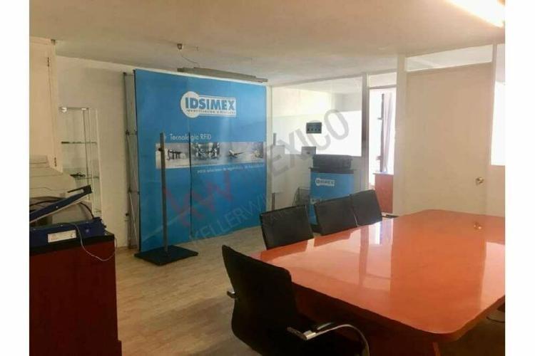 Oficina en venta, colonia juarez, del. cuahutemoc 55 m2