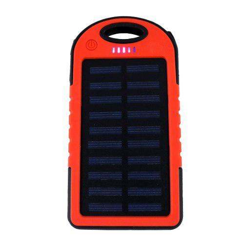 Power bank 5000mah bateria cargador solar para celulares /v