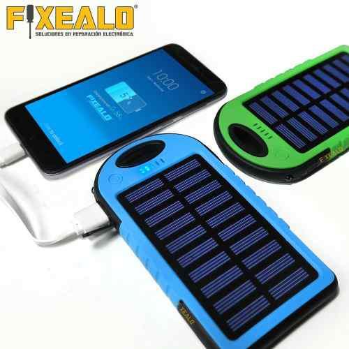 Power bank batería pórtatil solar uso rudo 12000 mah
