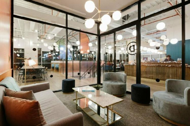 Renta flexible de espacios de oficina con servicios