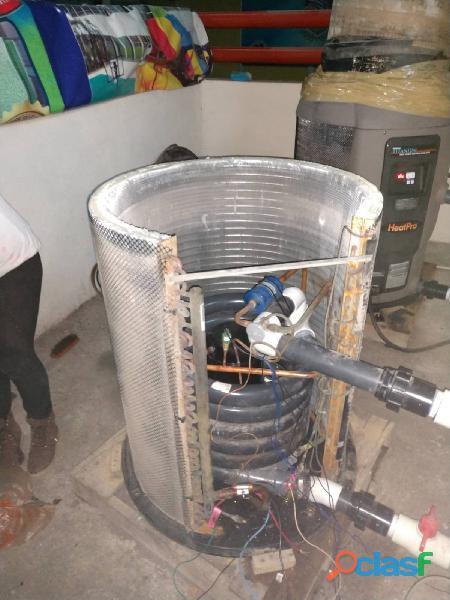 Reparacion de bombas de calor y tratamiento quimico a piscinas