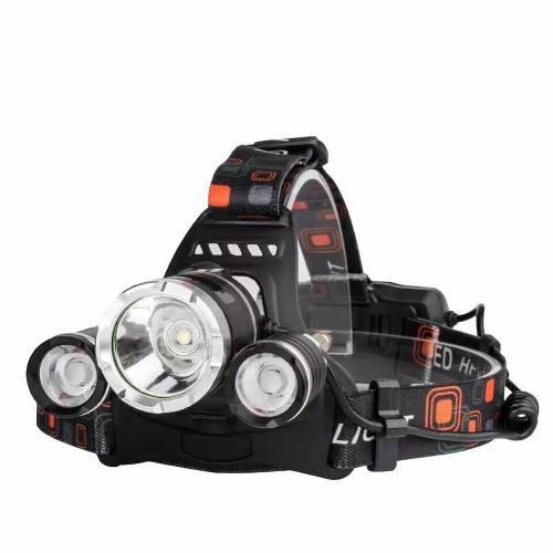 Lampara minera campismo luz led cabeza casco ciclismo m146