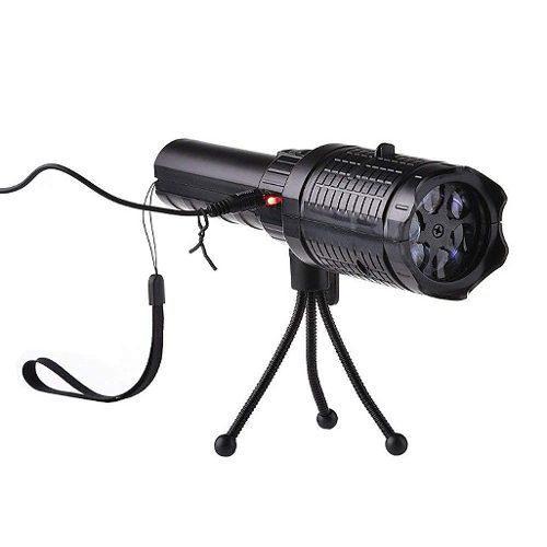 Lampara portatil proyector linterna mano halloween navidad