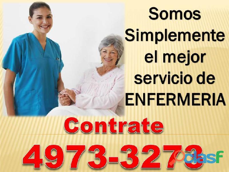 Personal de enfermeria y cuidadores para adultos mayores