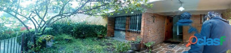 Casa en renta en tlalpan camino viejo a san pedro martir