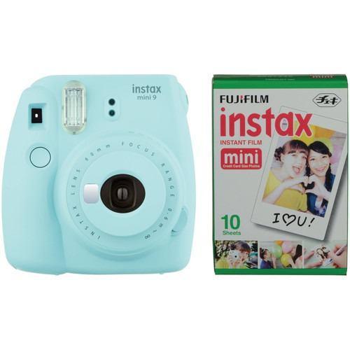 Fujifilm Instax mini 9 humo blanco incluyendo película