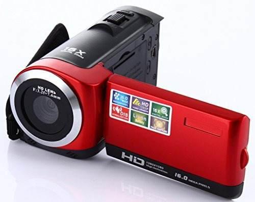 Cámara videocámara fosa hd 1080p máx 16 0 megapíxeles
