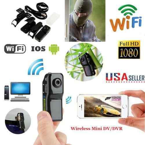 Estados unidos md80 wifi deporte videocámara grabadora