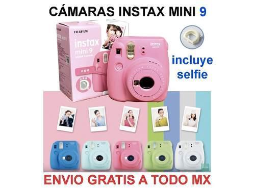 Fujifilm instax mini 9 camara instantanea d rollo y env grat