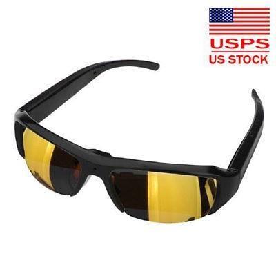 Gafas de moda 1080p videocámara hd gafas de sol cámara