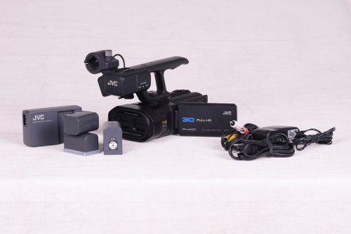 Jvc 3d full hd 3 baterias videocámara gy-hmz1u aceptó