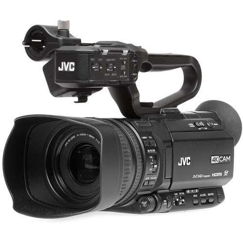 Jvc gy-hm250 uhd 4k videocámara de transmisión con