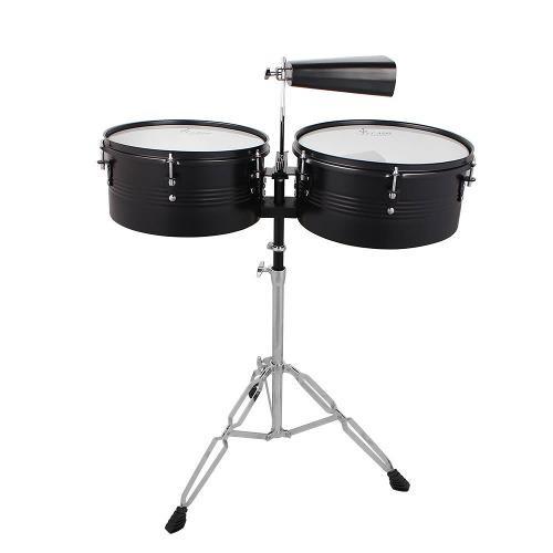 Latín percusión - set batería timbales de 13 -inchy 14-in