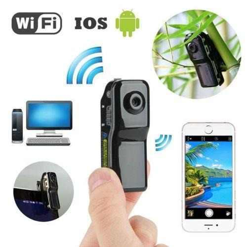 Md80 Espía Oculto Wifi Deportes Cámara Videocámara