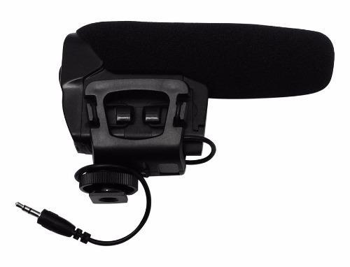 Microfono ambiental para camara de video promo vecctronica