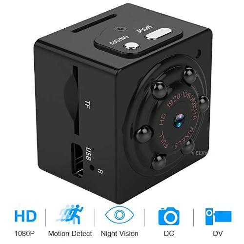 Mini cámara espía ocultos 1080p portátil espía