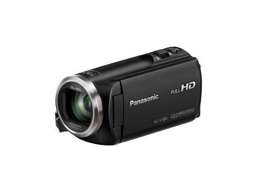 Panasonic hc v180k videocámara hd zoom óptico 50x (negro)
