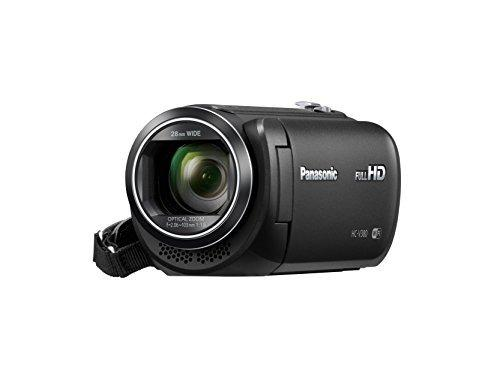 Panasonic hc -v380k videocámara completo hd con wi fi multi