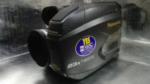 Panasonic - videocamara palmcorder vhsc 90´s m.i. japon