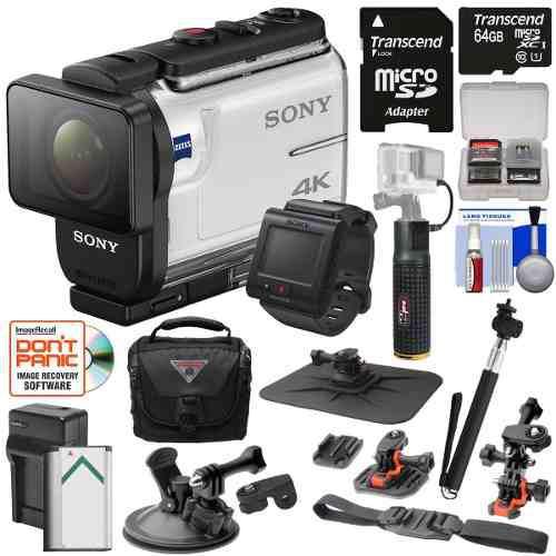 Sony action cam 4k hd video cámara videocámara y kit