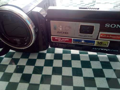 Sony hdr-pj10 videocamara full hd con proyector