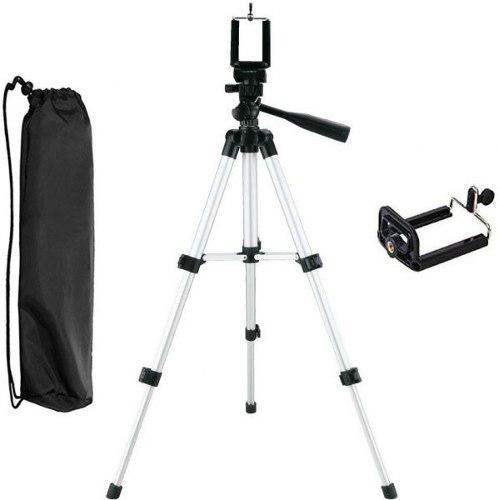 Soporte tripíe para cámaras celulares y videocámaras 100