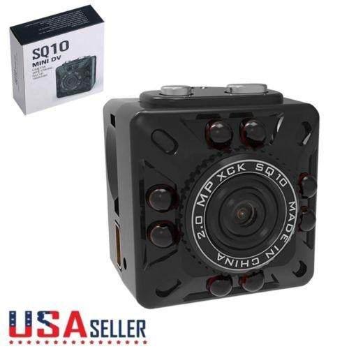 Sq10 Mini Cámara Videocámara De Alta Definición De La