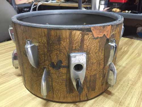 Tom sonor 13 x 8 vintage 60s para restaurar tambor bateria